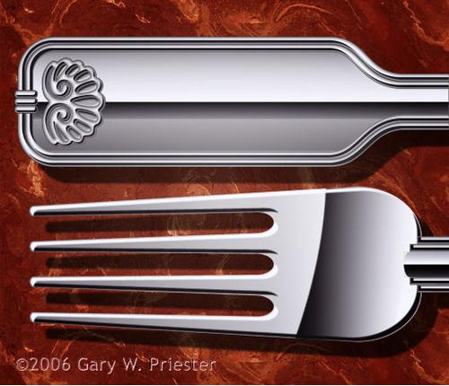 Silver Fork �2006 Gary W. Priester - All rights reserved